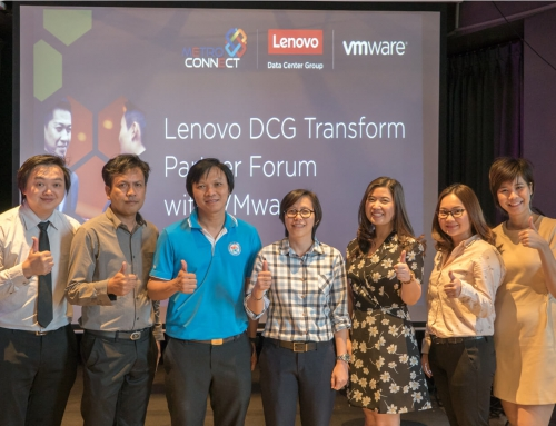 MCC joined Lenovo DCG Transform Partner Forum with VMware